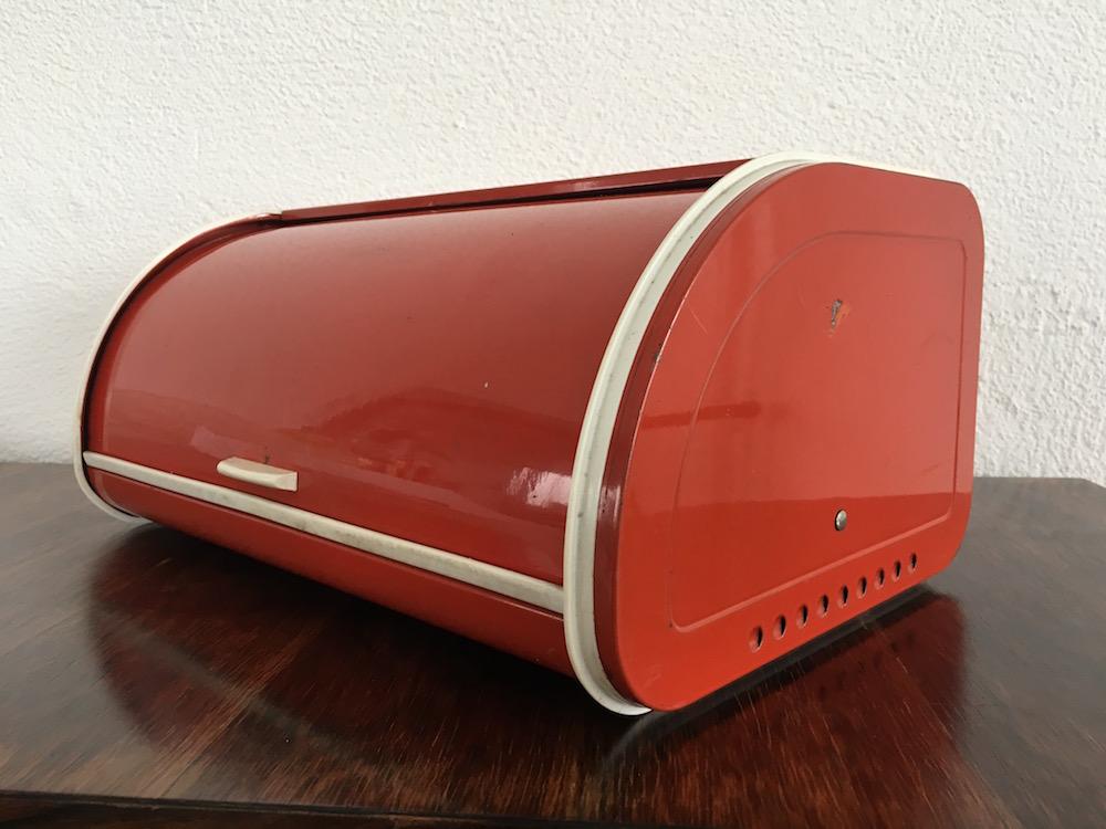 vintage brotkasten metall brabantia. Black Bedroom Furniture Sets. Home Design Ideas