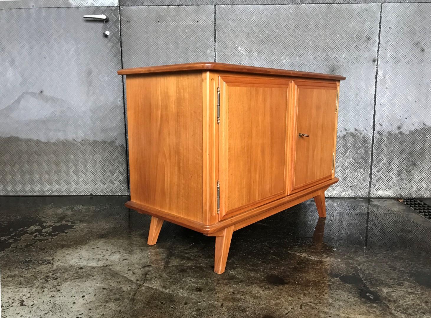 Vintage Sideboard Kommode 60er Jahre Frauflufelberg Ch