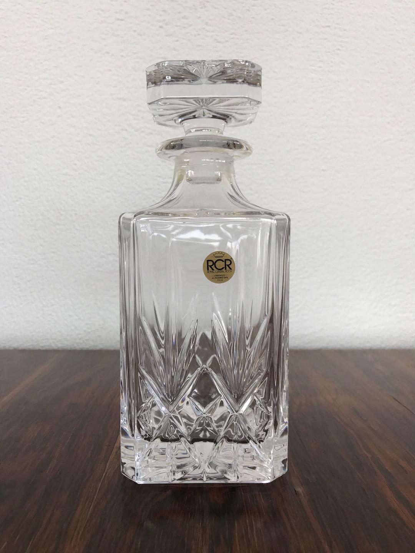 vintage bleikristall whisky karaffe rcr. Black Bedroom Furniture Sets. Home Design Ideas