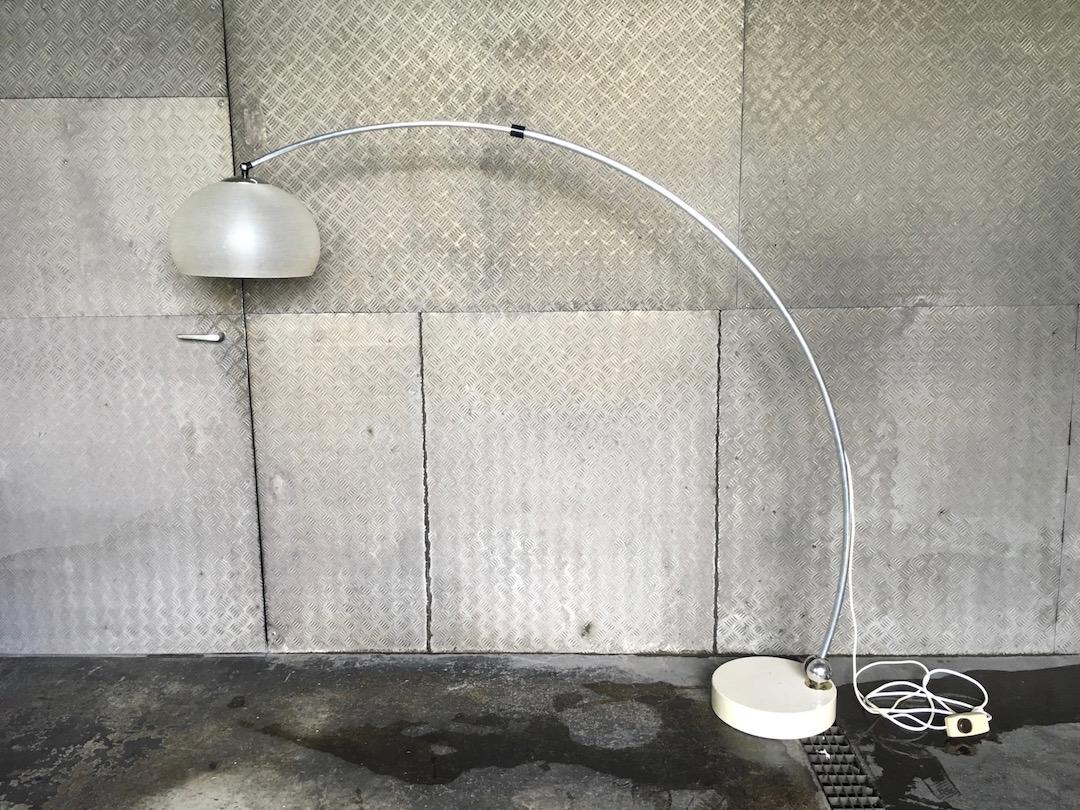 vintage stehlampe bogenlampe 70er. Black Bedroom Furniture Sets. Home Design Ideas