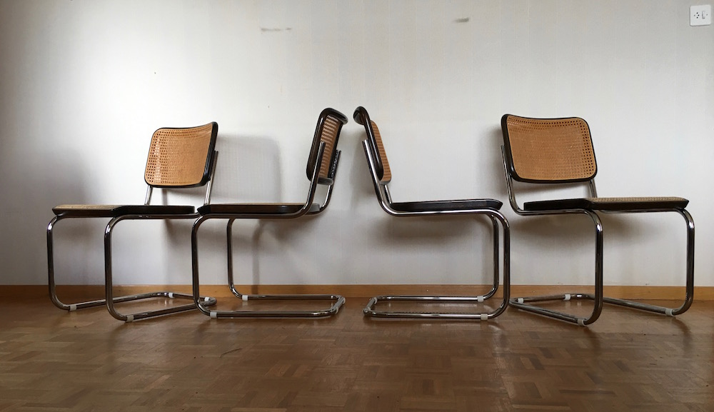 freischwinger thonet s32 marcel breuer. Black Bedroom Furniture Sets. Home Design Ideas