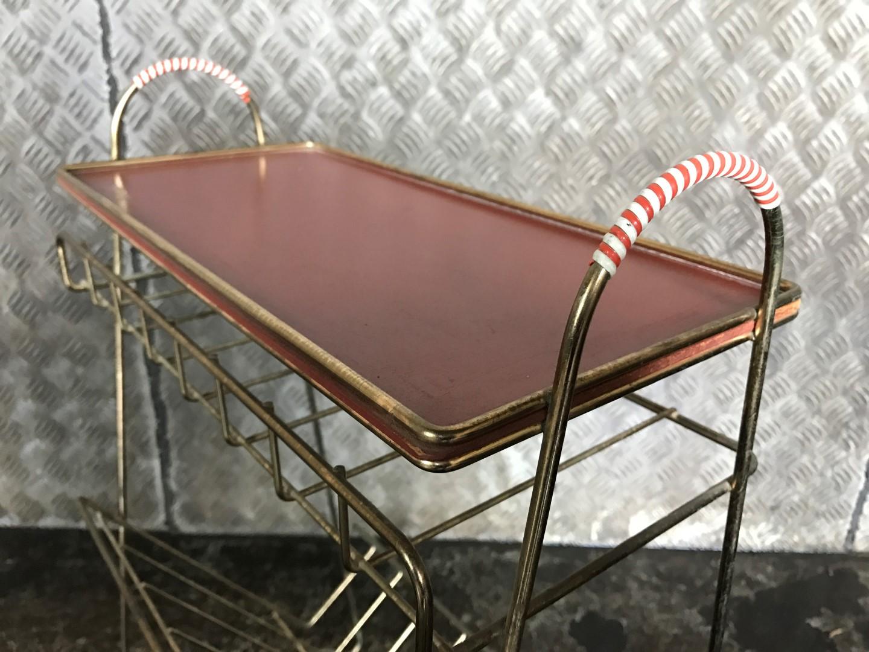 vintage messing zeitungsst nder 50er. Black Bedroom Furniture Sets. Home Design Ideas